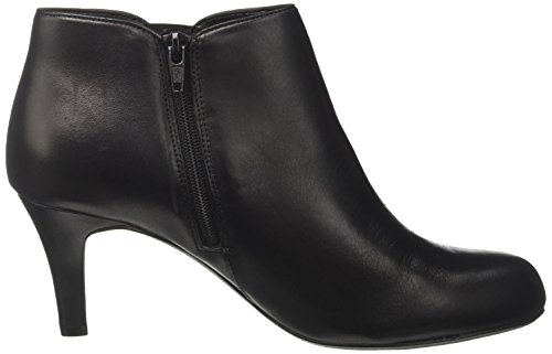 Black Leather Paige Women's Black Leather Clarks Arista Boots Black UvnHxX