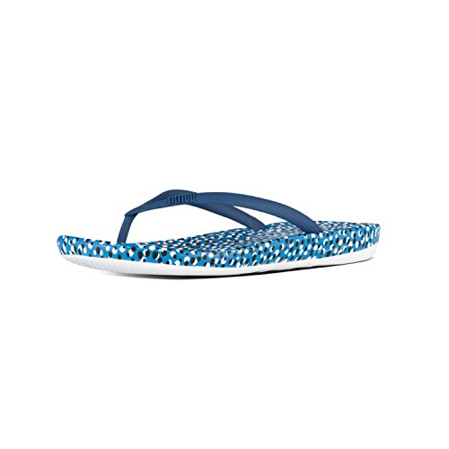 Blue Bright Bleu Iqushion Ergonomic TM Flipflop FitFlop Bubbles Tongs 468 Femme 61qF8n