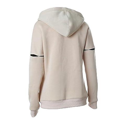 Kinghard/® Women Autumn Winter Casual Hoodies Long Sleeve Sweatshirt