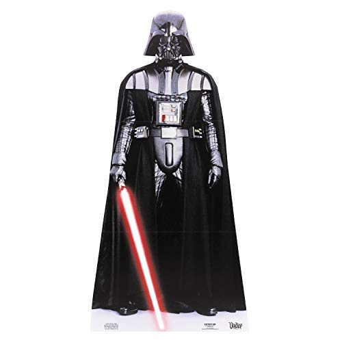 (Star Cutouts SC474 Official Star Wars Darth Vader Lifesize Cardboard Cutout)