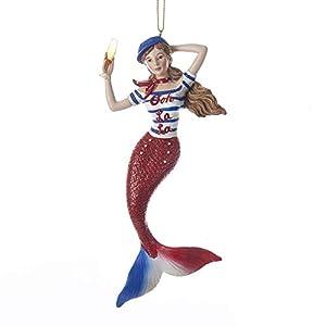 41X-0ZZGlTL._SS300_ 100+ Mermaid Christmas Ornaments