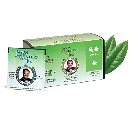 Green Herbal Tea Bags (G.H.T.) (Jason Winters Red Clover)