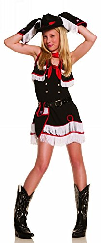 Elegant Moments EM9573JR-SM Small/Medium Teen Cowgirl Cutie -