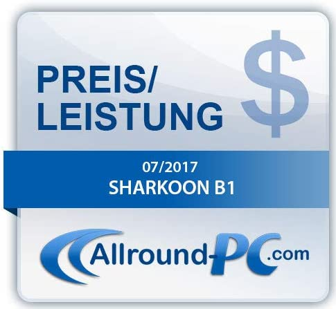 Sharkoon B1 Casque pour PC Gaming Noir - Actualités des Jeux Videos