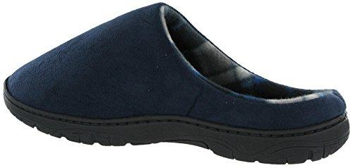shoeshoebedo  Basic Mule Slippers,  Herren Pantoffeln Blau
