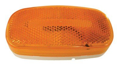 Peterson V180A Piranha Amber LED Oval Side Marker Light with ()