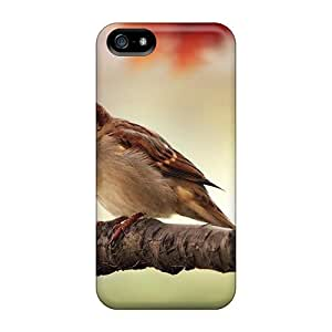 For SamSung Galaxy S3 Phone Case Cover - Sparrow Resting Protective Cases Compatibel With For SamSung Galaxy S3 Phone Case Cover
