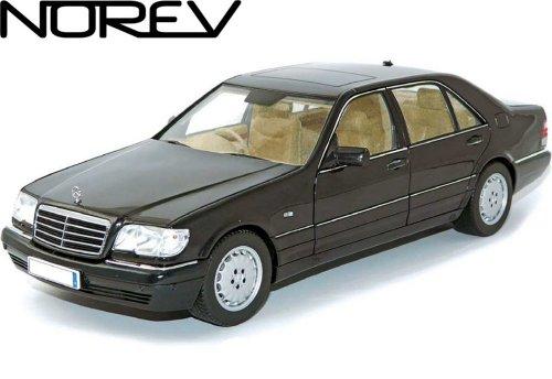 ノレブ 1/18 メルセデスベンツ S600 (W140) V12 ロング ブラックの商品画像