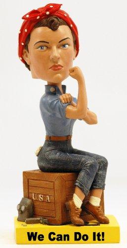 Royal Bobbles Rosie Riveter Bobblehead