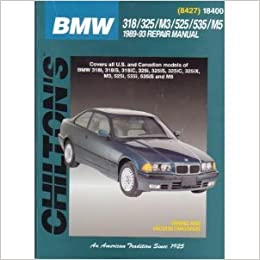 BMW 318325M3525535M5 198993 Chiltons Total Car Care The