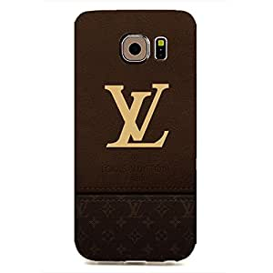 Samsung Galaxy S6 EDGE Special Dsign Louis And Vuitton Series 3D Hard Plastic Case