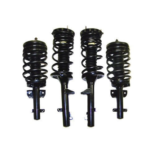 Suncore 37F-30-4 Air Suspension Conversion Kit Incl. Front And Rear Coil Over Struts Air Suspension Conversion Kit - Macpherson Strut Front Suspension
