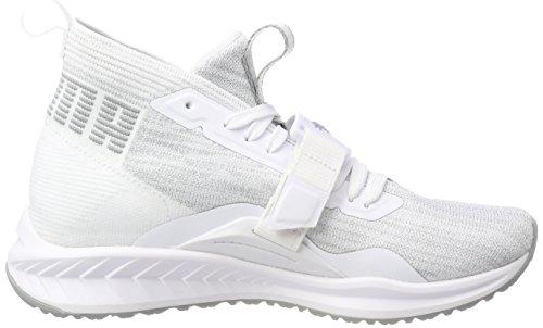 Puma Ignite Evoknit 2 WNS, Zapatillas de Cross Para Mujer Blanco (Puma White-quarry)