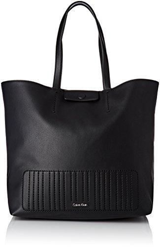 Noir main porté Klein Michelle Calvin Sac Black Shopper UHzqFn