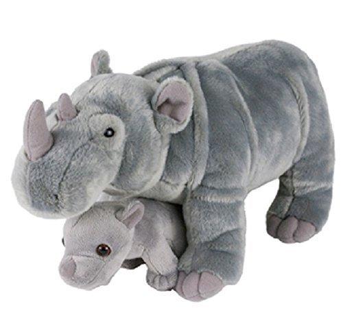 Adventure Planet Birth of LIfe Rhino and Baby Plush Toy 14