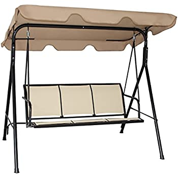 size tan porch garden hammock swing patio rocker outdoor canopy hardware bed of converting steel replacement seats furniture exciting medium with choices