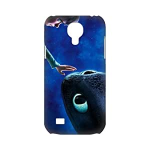 3D Print 2014 New Design!How to Train Your Dragon 2 Background Case Cover for SamSung Galaxy S4 mini i9192/i9198 - Personalized Hard Cell Phone Back Protective Case Shell-Perfect as gift