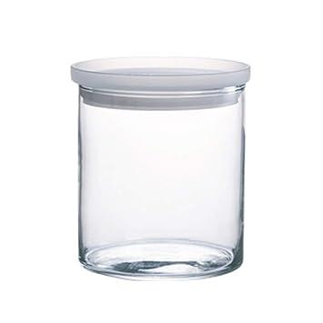 Botellas de vidrio cocina latas selladas Food Jam Coffee Tea granos jarra de almacenamiento con tapa