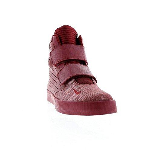 Nike Flystepper 2k3, Zapatillas de Baloncesto para Hombre Rojo - rojo