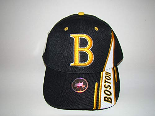 baystate New Hot Women Men Baseball Cap Hat Embroidered Strapback Adjustable Black Gold from baystate