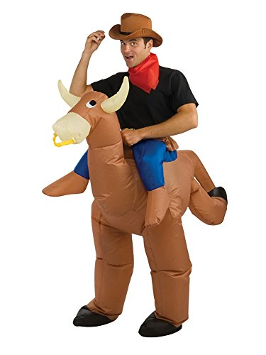 (Rubie's Inflatable Bull Rider, Multicolored, One)