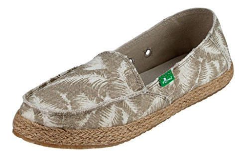Womens Funky Fiona Loafers Natural Hazy Palms 10 gSRPOcGPni