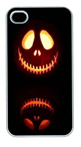 Halloween 8 Custom iPhone 4s/4 Case Cover Polycarbonate White