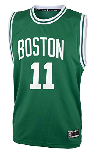 NBA Boston Celtics Kyrie Irving Boys Replica Player Jersey-Road Jersey, Medium(10-12), (Replica Nba Jersey)