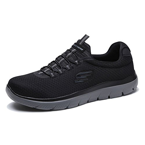 Sneaker Black Skechers Uomo Summits Charcoal Nero 85wn0xfYOq