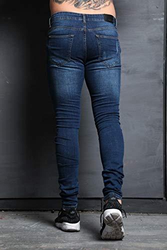 Homme enzo Stonewash Ze Jeans Mid rwZwdYqE