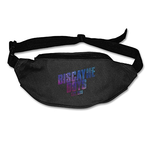 Price comparison product image NBA Star Wade Biscayne Boys Starry Waist Bag For Men Women Black (2 Colors)