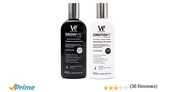 Watermans Rápido Hair Growth champú + acondicionador, de ...