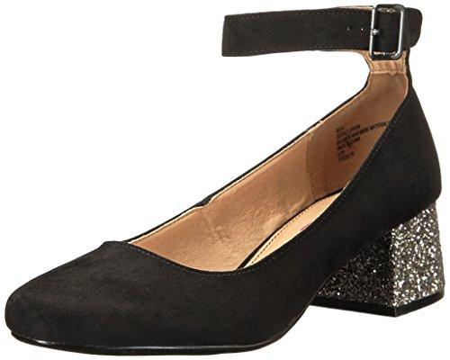 -u Dress Pump, Black/Silver, 8 M US (Black Silver Shoes)