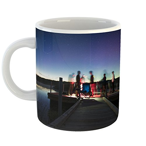 Westlake Art - Sky Galaxy - 11oz Coffee Cup Mug - Modern Picture Photography Artwork Home Office Birthday Gift - 11 Ounce (F40D-9D0B2) (Bench Galaxy Therapy)