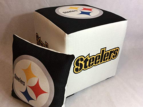 Nfl Novelty Pillow - Pittsburgh Steelers Ottoman w/FREE pillow
