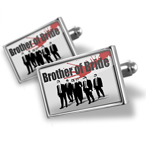 Sterling Silver Cufflinks Wedding Blood Brother of Bride Reservoir Dogs - Neonblond