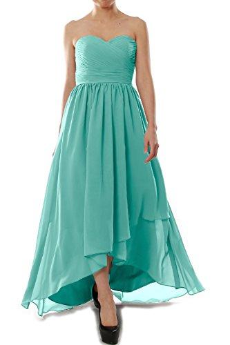 MACloth -  Vestito  - linea ad a - Senza maniche  - Donna blu 42