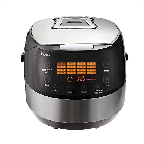 Cosway Multifunction Rice Cooker,7-in-1 Pressure Cooker Steame Slow Cooker 20 Cup Cooked (10 cup uncooked),Black [US STOCK]