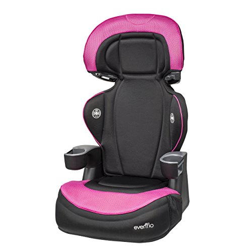 Evenflo ProComfort AMP LX High Back Booster Car Seat, Brit