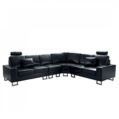Beliani Stockholm Contemporary Design Sectional Leather