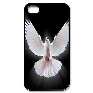 C-Y-F-CASE DIY Design Pigeon Pattern Phone Case For Iphone 4/4s hjbrhga1544