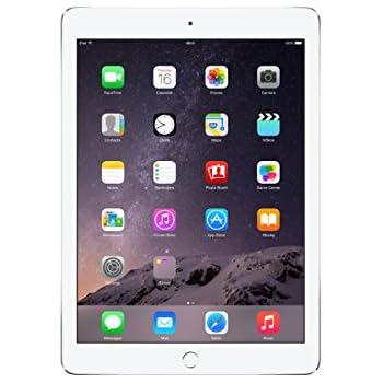 Apple iPad Air 2 MH2V2LL/A (16GB, Wi-Fi + Cellular, Silver) 2014 Model