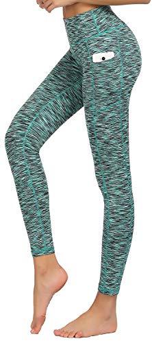 (HOFI High Waist Yoga Pants for Women Side & Inner Pockets with Tummy Control Sports Leggings)