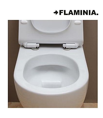 Flaminia MiniApp AP119G vaso sospeso Go Clean, bianco: Amazon.it ...