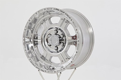 Pro Comp Alloys Series 89 Wheel with Polished Finish (16x8''/6x139.7mm) by Pro Comp Alloys