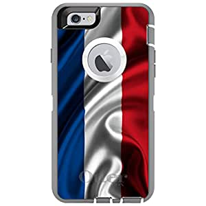 "CUSTOM Glacier OtterBox Defender Series Case for Apple iPhone 6 (4.7"" Model) - Holland Waving Flag"