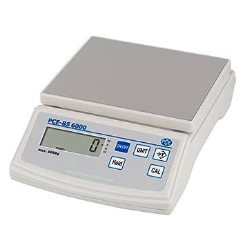 PCE Instruments - Balanza compacta de la serie PCE BS 6000: Amazon.es: Oficina y papelería