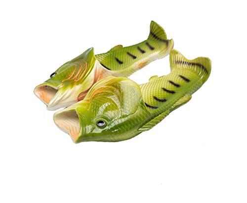 pantuflas el para pez Pantuflas playa forma chanclas baño la unisex divertidas para de Tininn con gWTqw1