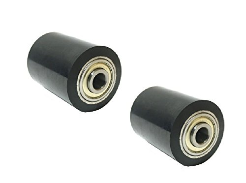 "Set of 2 Hyster Pallet Jack Load Support Wheels 3-3/4"" Wide x 2-3/4"" Diameter x"