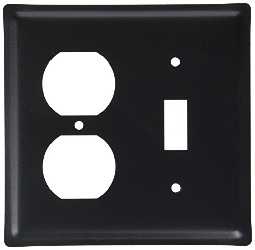 4.63 Inch Plain Single Outlet and Switch Cover
